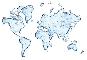 World Water Map
