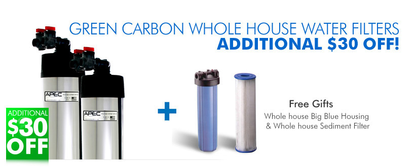 Green Carbon Whole House System Holiday Sale