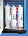 Built-in Reverse Osmosis Water Filters