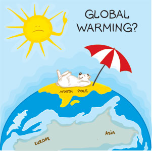 how to help the earth from global warming