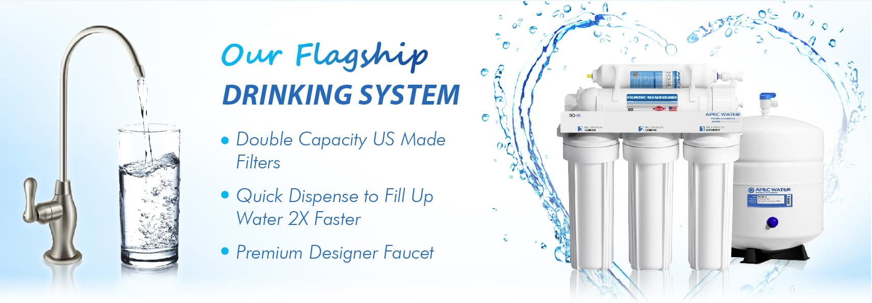 Apec Water Systems 1 Us Manufacturer Of Reverse Osmosis