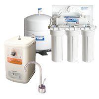 Reverse Osmosis System with Instant Hot system combo