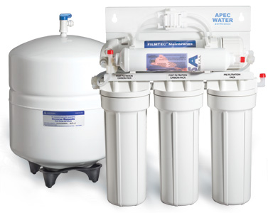 Ultra reverse osmosis water filter system