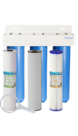 basic whole house water filters housings - Whole House Water Filtration System