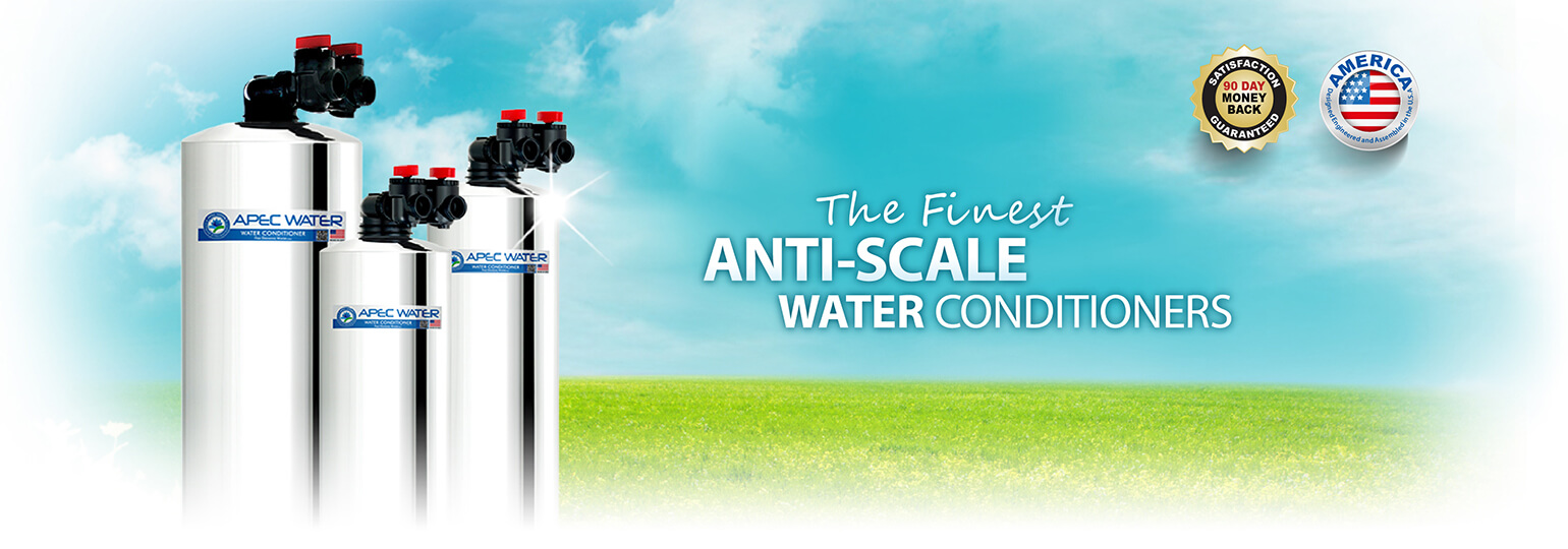 Anti-Scale Water Conditioners