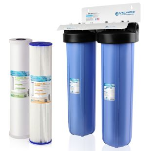 """MULTI PURPOSE  20"""" BB Sediment and Carbon Combo Water Filter"""