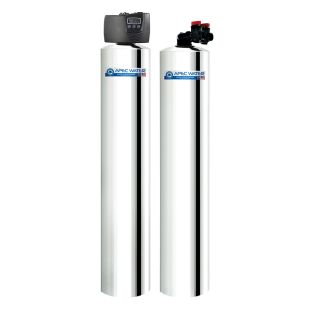 APEC WH-SOLUTION-MAX15 Whole House Water Filter and Salt Free Water Conditioner Systems For 3-6 Bathrooms