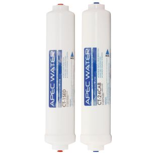 APEC Pre-filter Set for ULTIMATE RO-QUICK90 Reverse Osmosis Systems (Stages 1 and 2)