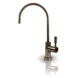APEC Drinking Water Faucet with Non Air Gap For Reverse Osmosis Filter System in Antique Brass (FAUCET-CD-AB)