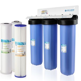 """Multi Purpose 20"""" BB Sediment, KDF and Carbon Combo Water Filter"""
