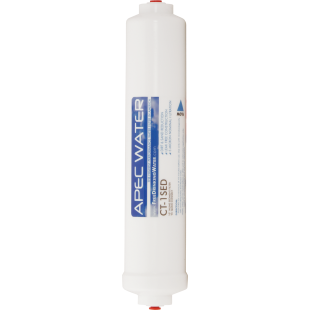 "APEC ULTIMATE Inline Sediment Pre-filter 10"", with 1/4""Quick-Connect"