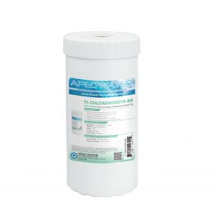 """Chloramines/Hydrogen Sulfide Removal Specialty Filter 4.5""""x 10"""""""