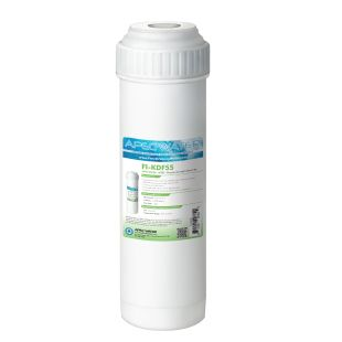 """APEC KDF55 2.5""""x10"""" GAC Water Filter Chlorine, Heavy Metal and Bacteria Reduction"""