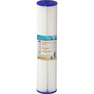 """Whole House Reusable and Pleated Sediment Filter 4.5"""" x 20"""", 30 micron"""