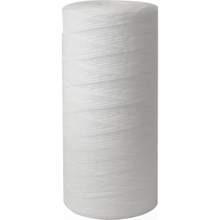 """Whole House 4.5""""(D) x 10"""" 100 Micron String Wound Polyproplene Filter for sediment removal"""