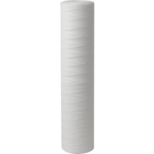 """Whole House 4.5""""(D) x 20"""" 100 Micron String Wound Polyproplene Filter for sediment removal"""