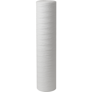 """Whole House 4.5""""(D) x 20"""" 25 Micron String Wound Polyproplene Filter for sediment removal"""