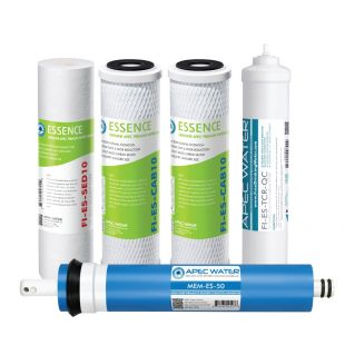 APEC Complete Filter Set for ESSENCE ROES-50 Systems (Stages 1-5)