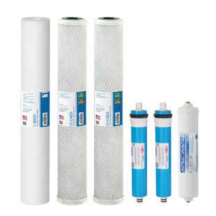 "Complete Filter Set for Lite Commercial 180 RO Systems - 20"" (All Stages)"