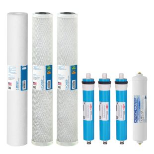 "Complete Filter Set for Lite Commercial 240 RO Systems - 20"" (All Stages)"
