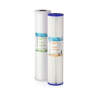 "APEC 20"" Whole House Sediment Carbon Replacement filter set for CB2-SED-CAB20-BB"