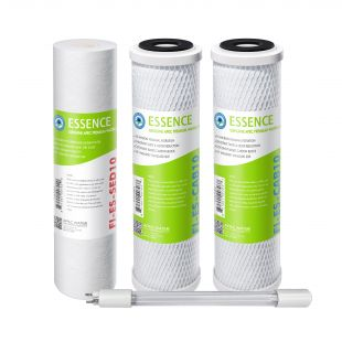 APEC Pre-filter Set for ESSENCE 75 GPD ROES-UV75-SS UV Reverse Osmosis Systems (Stages 1-3 and 5)