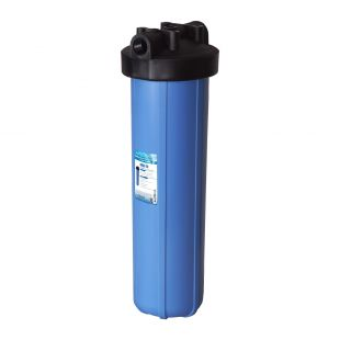 "APEC 20"" Big Blue Whole House Water Filter Housing 1"" Inlet/Outlet (HBB-20)"