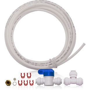 "Icemaker Kit for APEC Reverse Osmosis System - 1/4"" OD Tubing"