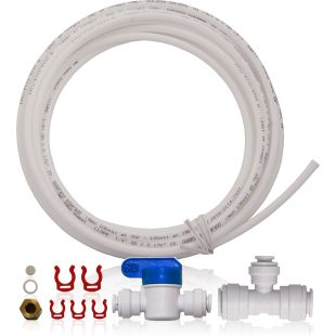 "Icemaker Kit for APEC Quick Dispense Reverse Osmosis System - 3/8"" to 1/4"" OD Tubing"