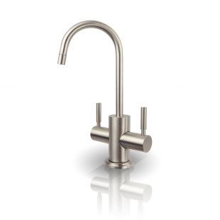WESTBROOK Hot and Cold Water Faucet - Brushed Nickel, Lead-Free