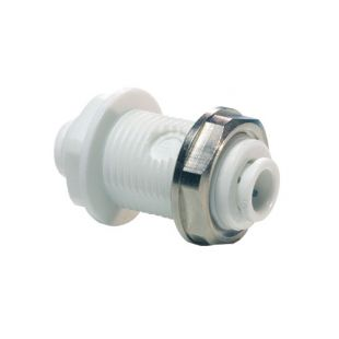 John Guest Polypropylene Fittings Bulkhead Union