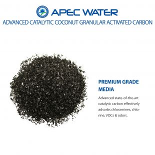 Green-Carbon-10 Replacement Media for chloramines and chlorine reduction 1 C.F.