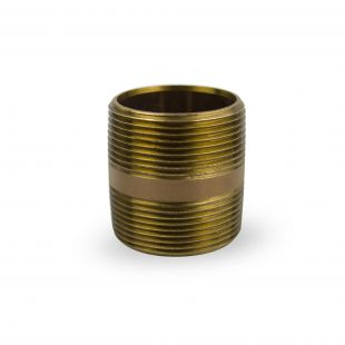 """Nipple-Brass for Whole House Water Filter (1-1/2"""" MPT)"""
