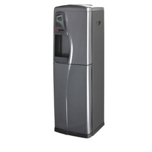 Deluxe Pure Water Cooler, 2 temp. Hot/Cold, with RO system 50GPD, Gray & Black