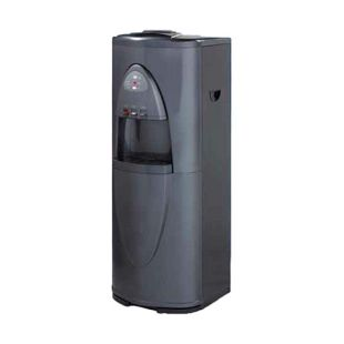 High Capacity Pure Water Cooler, 3 temp. Hot, Cold/Room with RO system 75 GPD, Gray & Black