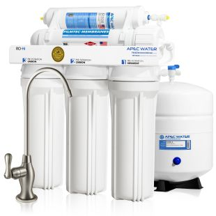 RO-Hi – Ultimate 5-Stage 90 GPD High Output Fast Flow Reverse Osmosis Drinking Water System WQA Certified