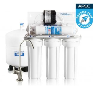 RO-PERM – Ultimate Permeate Pumped Reverse Osmosis Drinking Water System for Low Pressure Homes