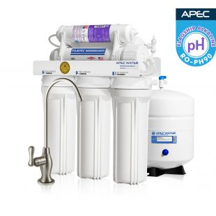 RO-PH90 – Ultimate Alkaline Mineral 90 GPD 6-Stage High Output Reverse Osmosis Drinking Water System WQA Certified