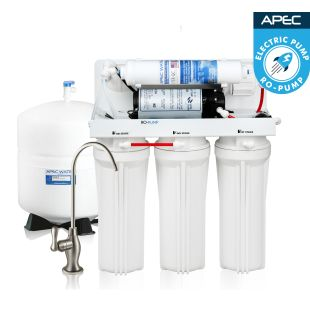 RO-PUMP – Electric Pumped Reverse Osmosis Drinking Water System for International Use