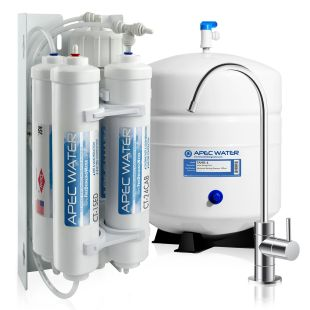 RO-QUICK90 – Ultimate Compact 4-Stage 90 GPD High Output Undersink Reverse Osmosis Drinking Water System