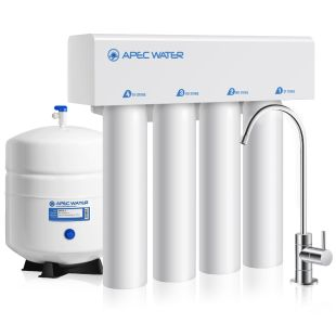 RO-TWIST – Supreme 4-Stage 75 GPD Twist Easy Filter Change Undersink Reverse Osmosis Drinking Water System