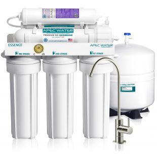 ROES-PH75 - Essence Alkaline Mineral 6-Stage 75 GPD Reverse Osmosis Drinking Water System WQA Certified