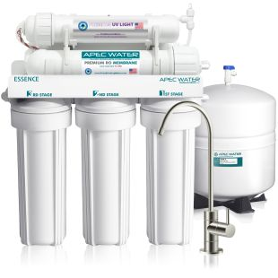 ROES-UV75 - Essence UV Disinfecting 6-Stage 75 GPD Reverse Osmosis Drinking Water System
