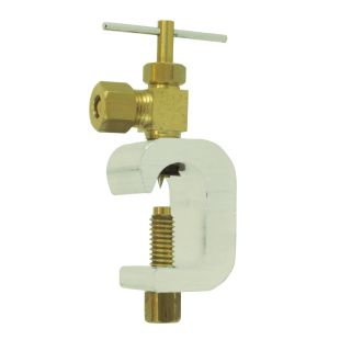 """Self-Pierce Feed Water Adapter C-arm for 1/4"""" Tubing"""