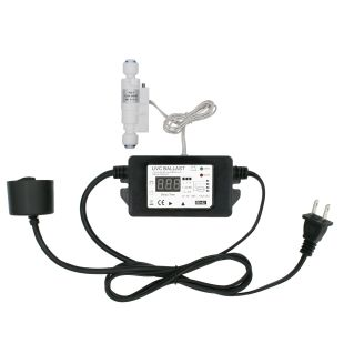 UV Transformer Ballast with Smart Flow Sensor Switch and Delayed Function, Preventing Water Getting Heat Up by UV Light