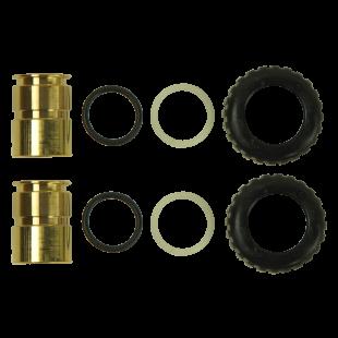 "1"" Brass   Sweat Adapter Kit"