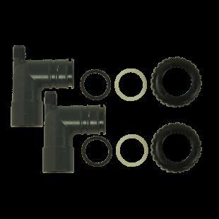 "3/4"" x 1"" PVC   Solvent Elbow Adapter Kit"