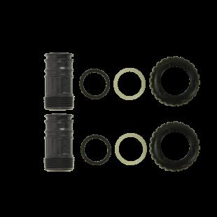 "1"" Plastic  Male NPT Adapter Kit"