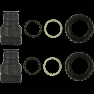 "1.25"" Plastic  Male NPT Adapter Kit"