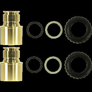 "1.25"" x 1.5"" Brass   Sweat Adapter Kit"